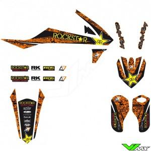 Blackbird Rockstar Stickerset - KTM 85SX