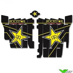 Blackbird Rockstar Radiateur Lamellen Stickers - Honda CRF250R