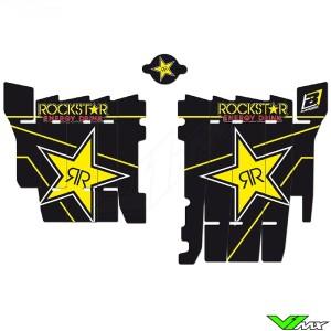 Blackbird Rockstar Radiateur Lamellen Stickers - Honda CRF450R CRF450RX