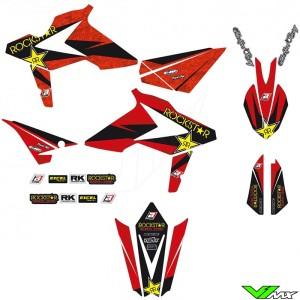 Blackbird Rockstar Stickerset - Beta RR250-2T RR300-2T RR350-4T RR390-4T RR430-4T RR480-4T