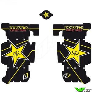 Blackbird Rockstar Radiateur Lamellen Stickers - Beta RR250-2T RR300-2T RR350-4T RR390-4T RR430-4T RR480-4T