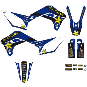 Blackbird Rockstar Stickerset - Sherco 125SE 250SE 300SE 250SEF 300SEF 450SEF