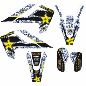 Blackbird Rockstar Stickerset - Husqvarna TC85