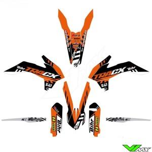 Kutvek TRACX Stickerset - KTM 125EXC 200EXC 250EXC 300EXC 450EXC 500EXC 250EXC-F 350EXC-F