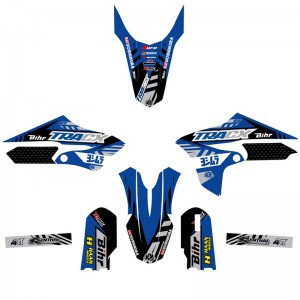 Kutvek TRACX Stickerset - Yamaha YZ65