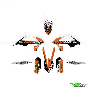 Kutvek TRACX Stickerset - KTM 125SX 150SX 250SX 250SX-F 350SX-F 450SX-F