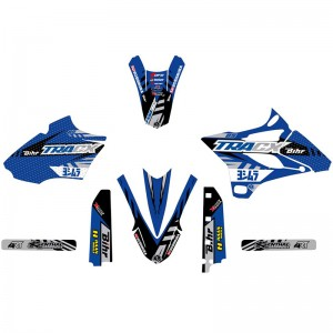 Kutvek TRACX Stickerset - Yamaha YZ85