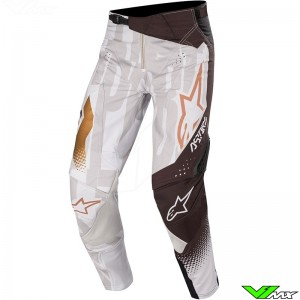 Alpinestars Techstar Factory Metal 2020 Crossbroek - Grijs / Zwart / Copper