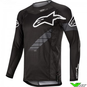 Alpinestars Techstar Graphite 2020 Cross shirt - Zwart