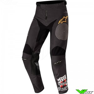 Alpinestars Racer Tech Flagship 2020 Motocross Pants - Black / Orange