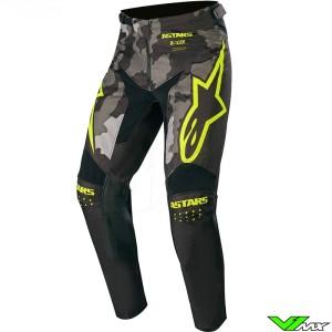 Alpinestars Racer Tactical 2020 Motocross Pants - Black / Camo / Fluo Yellow
