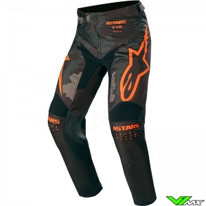 Alpinestars Racer Tactical 2020 Motocross Pants - Black / Camo / Fluo Orange