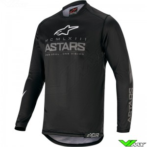 Alpinestars Racer Graphite 2020 Cross shirt - Zwart