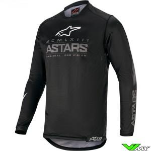 Alpinestars Racer Graphite 2020 Motocross Jersey - Black