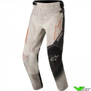 Alpinestars Racer Factory 2020 Youth Motocross Pants - Grey / Black / Metaal