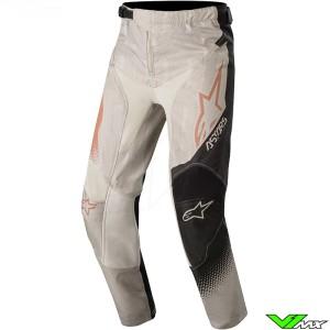 Alpinestars Racer Factory 2020 Youth Motocross Pants - Grey / Black / Metaal