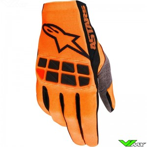 Alpinestars Racefend 2020 Motocross Gloves - Fluo Orange