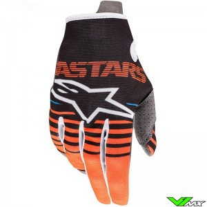 Alpinestars Radar 2020 Motocross Gloves - Anthracite / Fluo Orange