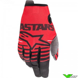 Alpinestars Radar 2020 Youth Motocross Gloves - Red