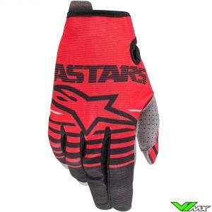 Alpinestars Radar 2020 Youth Motocross Gloves - Red
