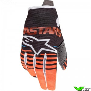 Alpinestars Radar 2020 Youth Motocross Gloves - Anthracite / Fluo Orange
