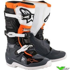 Alpinestars Tech 7s Youth Motocross Boots - Fluo Orange