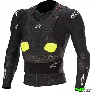 Alpinestars Bionic Pro V2 Protection Jacket - Black / Fluo Yellow