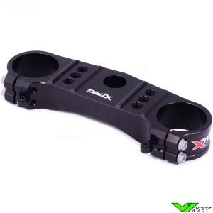 X-Trig Bovenste Kroonplaat Zwart - Honda CRF250R CRF450R