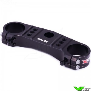 X-Trig Top Triple Clamp Black - Kawasaki KXF450