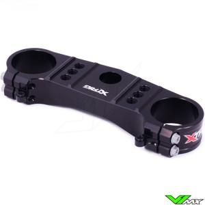 X-Trig Bovenste Kroonplaat Zwart - Suzuki RMZ250 RMZ450