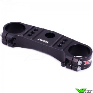 X-Trig Top Triple Clamp Black - Suzuki RMZ250 RMZ450