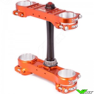 X-Trig ROCS Pro Triple Clamp Orange - KTM Husqvarna