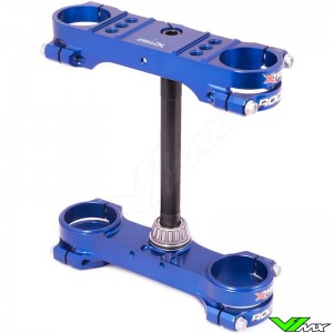 X-Trig ROCS Tech Triple Clamp Blue - KTM 65SX Husqvarna TC65