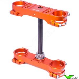 X-Trig ROCS Tech Kroonplaat Oranje - KTM 50SX 50SXMini