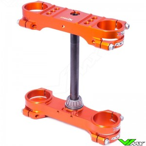 X-Trig ROCS Tech Triple Clamp Orange - KTM 50SX 50SXMini