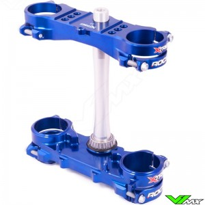X-Trig ROCS Tech Triple Clamp Blue - Yamaha YZF250 YZF450