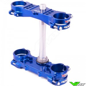 X-Trig ROCS Tech Triple Clamp Blue - Yamaha YZF450