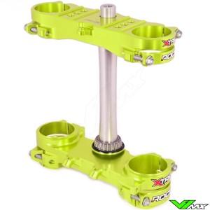 X-Trig ROCS Tech Kroonplaat Neon Geel - Suzuki RMZ250 RMZ450