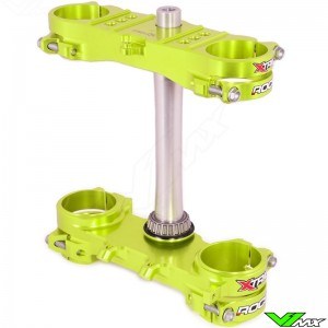 X-Trig ROCS Tech Triple Clamp Neon Yellow - Suzuki RMZ250 RMZ450