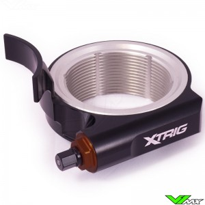 X-Trig Preload Adjuster Black - KTM Husqvarna