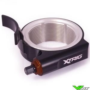 X-Trig Preload Adjuster Zwart - KTM Husqvarna