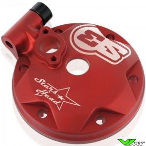 S3 Cilinderkop Rood - GasGas EC250 EC300