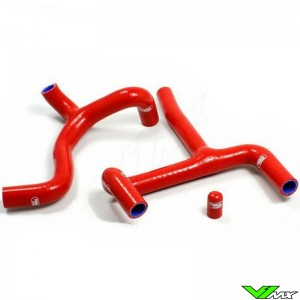 Samco Sport Radiator Hose Red (Thermostat Bypass) - Beta RR350-4T RR390-4T RR430-4T RR480-4T