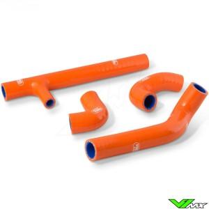 Samco Sport Radiateurslangen Oranje - KTM 125XC-W Husqvarna TX125