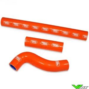 Samco Sport Radiateurslangen Oranje (Thermostat Bypass) - KTM 250EXCTPI Husqvarna TE300I