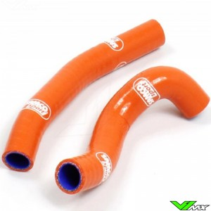 Samco Sport Radiator Hose Orange - KTM Freeride250R