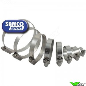 Samco Sport Hose Clamps (For HUS-5 with Y-Piece Race Design) - Husqvarna CR125 WR125