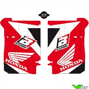 Blackbird Radiator Louvers Graphics - Honda CRF250R