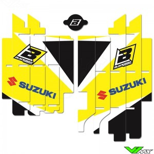 Blackbird Dream 3 Radiateur Lamellen Stickers - Suzuki RMZ450