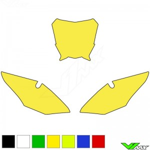 Blackbird Number plate backgrounds clean - Honda CRF250R CRF450R